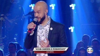 Juliano Barreto, do time Ivete, canta sucesso de Lulu Santos