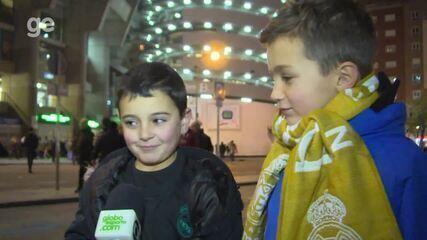Mundial de Clubes: torcedores do Real Madrid respondem se conhecem o Grêmio
