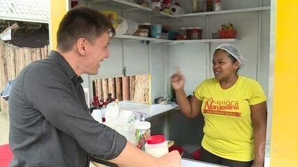 Sebrae ajudou Helenilda a reerger negócio de tapioca