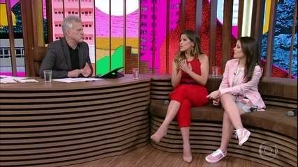Larissa Manoela fala sobre primeiro beijo