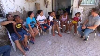 Família que mora em Santa Cruz participa do 'Lar Doce Lar'
