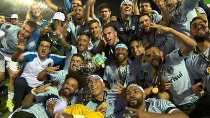 'Retrospectiva Tricolor': confira como foi o ano de 2017 para o Grêmio