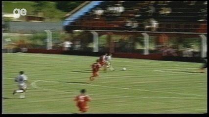 Os gols de Internacional 2 x 1 Desportiva Ferroviária pela Copa São Paulo de 1998