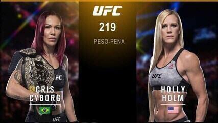 UFC 219: Cyborg x Holm - Cris Cyborg x Holly Holm