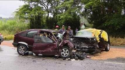 Feriado prolongado de Ano Novo teve 183 acidentes graves no país