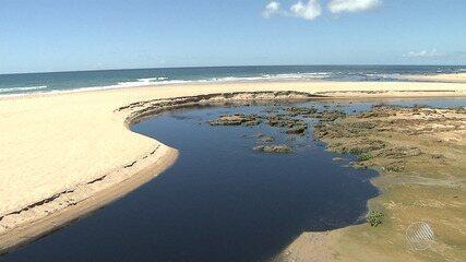Ministério Público solicita laudo sobre lançamento de esgoto na praia de Patamares