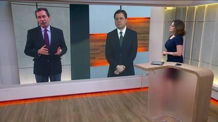 """Comentário exibido no """"Jornal das Dez"""", da GloboNews."""
