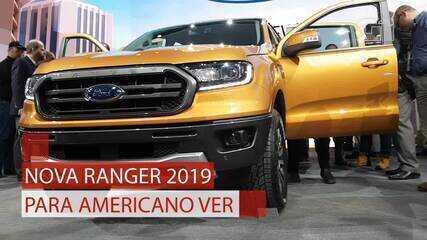 Ford Ranger volta aos Estados Unidos diferente do modelo brasileiro