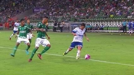 Melhores momentos de Palmeiras 3 x 1 Santo André pela 1ª rodada do Campeonato Paulista