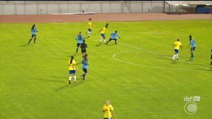 Piauiense Valéria marca gol no Sul-Americano sub-20