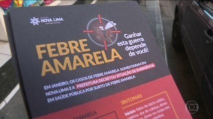 Governo de MG decreta emergência por causa da febre amarela