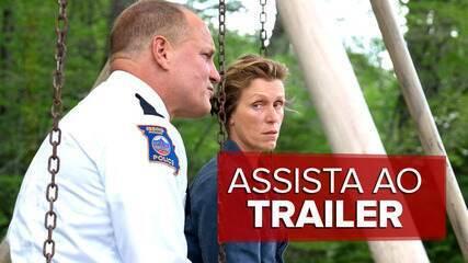 Assista ao trailer de 'Três anúncios para um crime'
