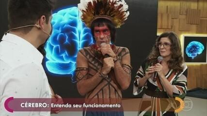 Obirajara Dominique participa do Encontro com Fátima Bernardes II