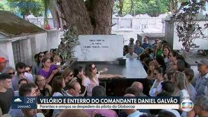 Emoção marca sepultamento de comandante do Globocop, que caiu na Praia do Pina