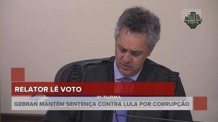 Relator aumenta pena de Lula para 12 anos e um mês