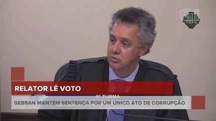 Relator lê voto da sentença do julgamento de Lula - íntegra