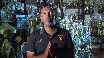 Entrevista de Luiz Carlos, ídolo do Sport