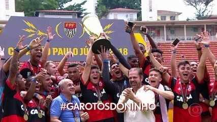 Flamengo vence o São Paulo e é tetracampeão da Copinha