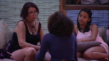 Mara faz pedido a Gleici e Nayara: 'A gente tem que se proteger'