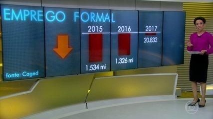 Brasil termina 2017 com saldo negativo no mercado de trabalho
