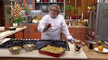 Roberto Ravioli ensina receitas rápidas