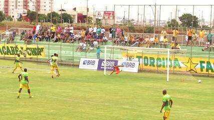 Os gols de Samambaia 1 x 2 Brasiliense pelo Campeonato Brasiliense 2018