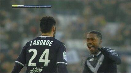 Os gols de Bordeaux 3 x 1 Lyon pela 23ª rodada do Campeonato Francês