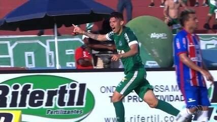 Veja os gols do Goiás contra o Itumbiara
