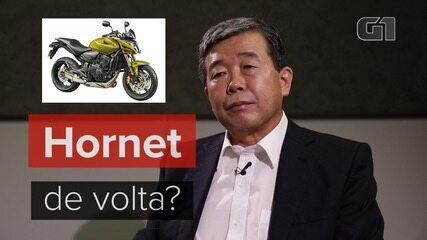 Presidente da Honda fala sobre possível retorno da Hornet