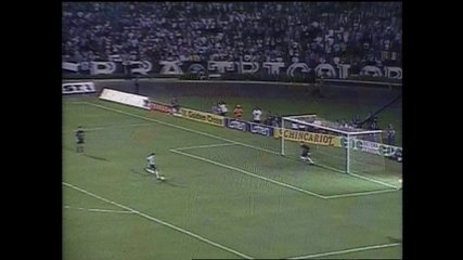 Em 2001, Flamengo vence o Grêmio nos pênaltis pela Copa Mercosul