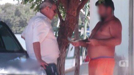 Vídeo mostra chefe do IBAMA de Mossoró recebendo propina
