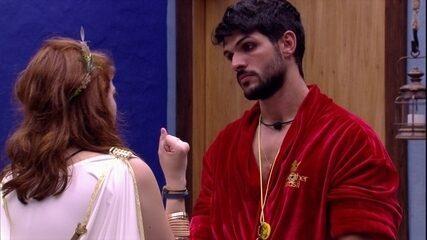 Ana Clara elogia Lucas: 'Gosto de tu mesmo antes de ser Líder'