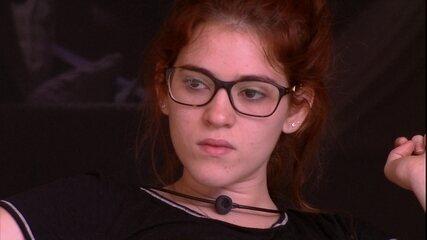 Ana Clara demonstra reação ao ser eleita para o Castigo do Monstro