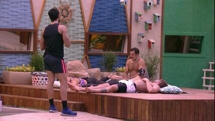 Lucas dá conselho para Kaysar e Jéssica rebate: 'Vou deixar para outra pessoa'
