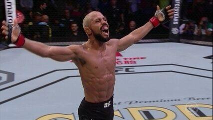 Deiveson Figueiredo vence Joseph Morales por nocaute técnico no UFC Belém