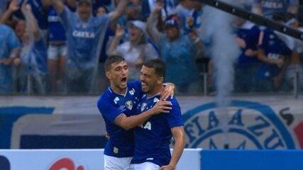 Veja o gol de Cruzeiro 1 x 0 América-MG pelo Campeonato Mineiro