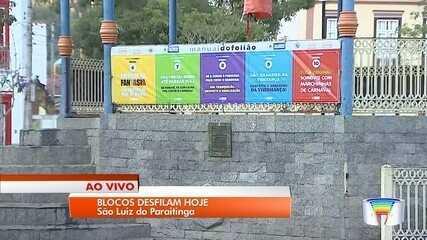 Blocos iniciam carnaval em São Luiz do Paraitinga nesta sexta