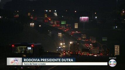 Rodovias que levam ao litoral e interior de SP devem ter trânsito pesado no carnaval