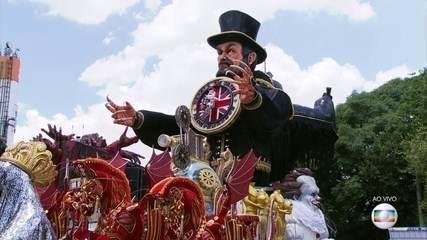 Desfile das escolas de samba do grupo especial de SP começa nesta sexta (9)