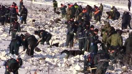 Encontrada segunda caixa-preta de avião que caiu na Rússia
