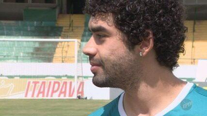 Bruno Mendes brilha no jogo contra o Sertãozinho e ganha destaque no Guarani