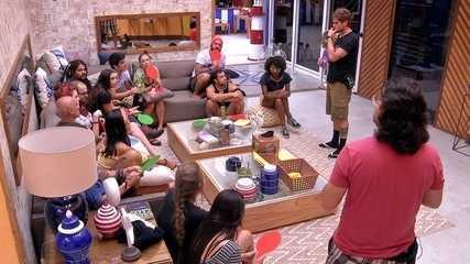 Breno escolhe Kaysar comor ecalcado no lugar de Paula