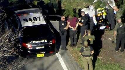 Preso suspeito de atirar em escola da Flórida
