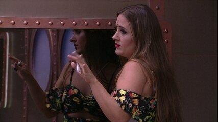 Kaysar elogia Patrícia: 'Você fica linda de qualquer jeito'