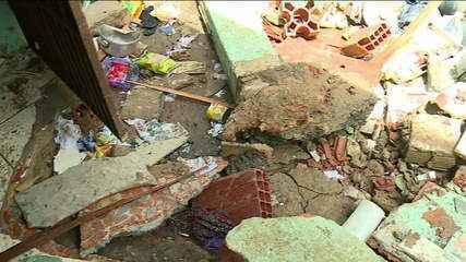 'Só achamos a senhora já sem vida quando a água abaixou', diz vizinho de mulher morta