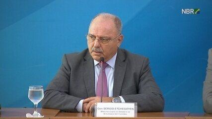 Ministro Sérgio Etchegoyen diz que Temer fará reunião para apresentar general