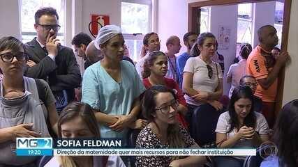 Em crise, Hospital Sofia Feldmann desativa leitos em Belo Horizonte