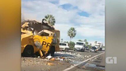 Carro Forte é explodido na BR-343 entre Altos e Campo Maior