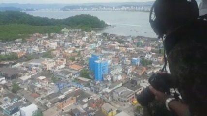 Operação busca assaltantes de embarcações no litoral de SP