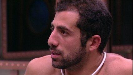 Kaysar diz: 'Não quero que alguém me jogue no Paredão'